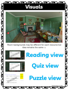 Executive Branch DIGITAL ESCAPE ROOM for Google Drive® | Distance Learning picture