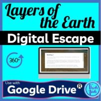 Layers of the Earth DIGITAL ESCAPE ROOM picture