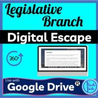Legislative Branch DIGITAL ESCAPE ROOM picture