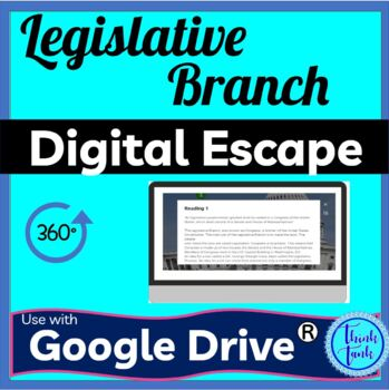 Legislative Branch DIGITAL ESCAPE ROOM picture