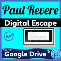 Paul Revere DIGITAL ESCAPE ROOM picture