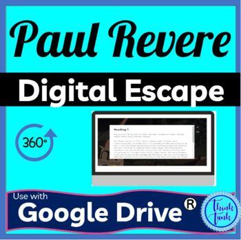 Paul Revere DIGITAL ESCAPE ROOM picture
