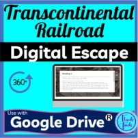 Transcontinental Railroad DIGITAL ESCAPE ROOM picture