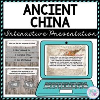 Ancient China Interactive Google Slides picture