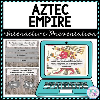 Aztec Empire Interactive Google Slides picture