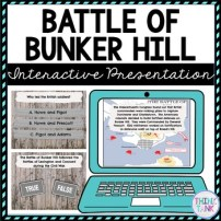 Battle of Bunker Hill Interactive Google Slides picture