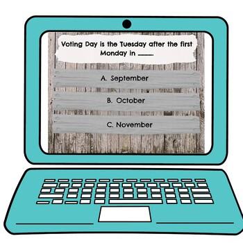 Electoral College Interactive Google Slides picture
