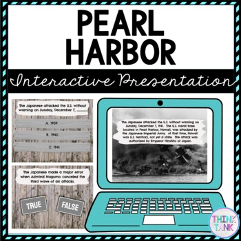 Pearl Harbor Interactive Google Slides picture