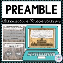 Preamble Interactive Google Slides picture