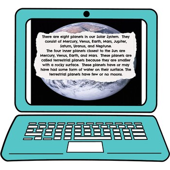 Solar System Interactive Google Slides picture