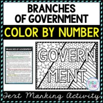 Branches of Government Activity Picture