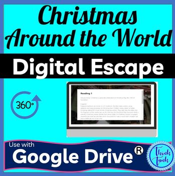 Christmas Around the World DIGITAL ESCAPE ROOM | Distance Learning picture