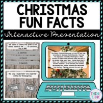 Christmas Fun Facts Interactive Google Slides™ Presentation picture