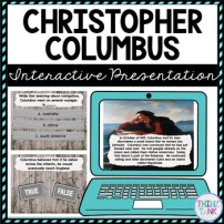 Christopher Columbus Interactive Google Slide picture