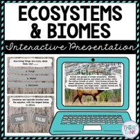 Ecosystems and Biomes Interactive Google Slides picture