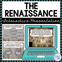 Renaissance Interactive Google Slides™ Presentation | Distance Learning picture