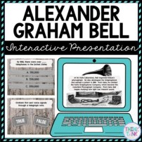 Alexander Graham Bell Interactive Google Slides™ Presentation-Distance Learning