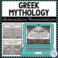 Greek Mythology Interactive Google Slides™ Presentation | Distance Learning