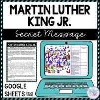 Martin Luther King Jr. Secret Message Activity for Google Sheets™