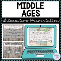 Middle Ages Interactive Google Slides™ Presentation | Distance Learning