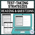 Test-Taking Strategies DIGITAL Reading Passage and Questions - Self Grading