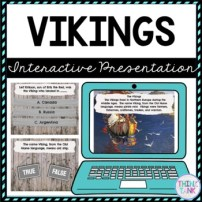Vikings Interactive Google Slides™ Presentation | Distance Learning