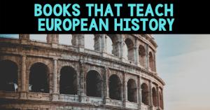 Books that teach European History Blog Cover