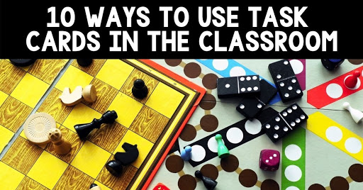 task cards in the classroom blog pic cover