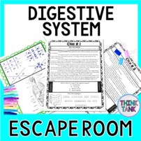 Digestive System ESCAPE ROOM Activity - Biology