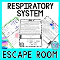 Respiratory System ESCAPE ROOM Activity - Biology
