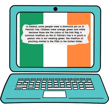 St. Patrick's Day Interactive Google Slides™ Presentation   Distance Learning