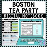 Boston Tea Party Digital notebook picture