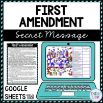 First Amendment Lesson Plan Picture