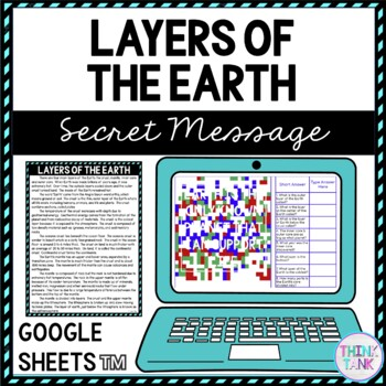 Layers of the earth lesson plan picture