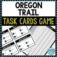 Oregon Trail Educational Activity