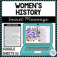 Womens History Education Activity Example Picture