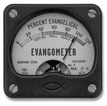 """Internet Monk's """"Evangometer"""""""