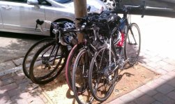 Cycling to Santa Monica