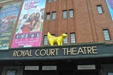 Above the Royal Court Theatre