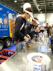This drink is just like beer.. but NOT! Check out Erdinger alcohol-free recovery drink