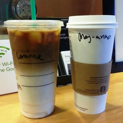 Starbucks - caramel macchiato