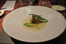 Salmon and dill ballotine - radish, fennel, sea herbs