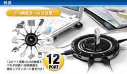 hub-usb-12-ports