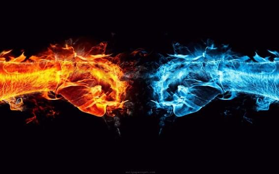 Art-fire-vs-ice-wallpaper