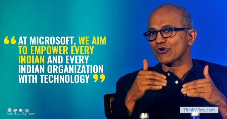 satya_nadella_microsoft_ceo_in_india_2017_bengaluru_quote_thinkwitty.com