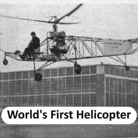World's first Helicopter - thinkwitty.com