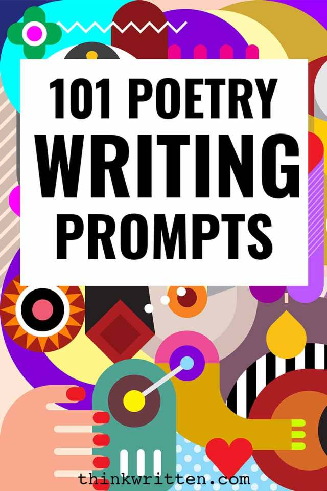 25 Poetry Prompts & Creative Ideas for Writing Poems - ThinkWritten