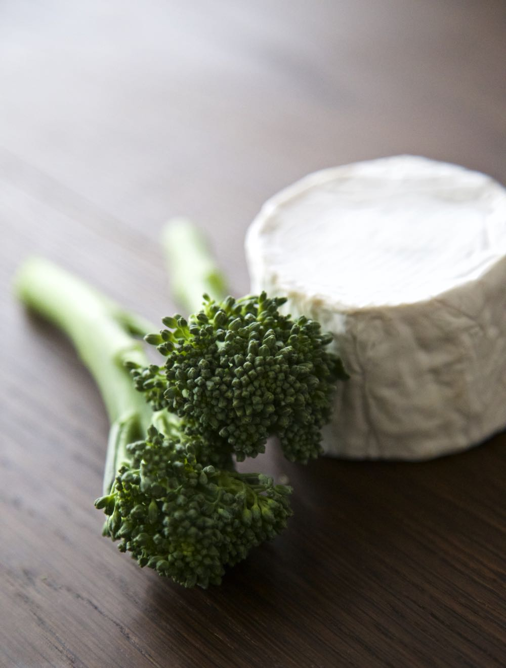 Tenderstem Broccoli with Somerset Goat's Cheese by thinlyspread.co.uk