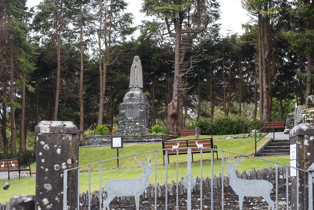 Statue of St. Gobnait at Ballyvourney