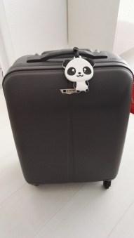 Etiquette baggage panda situation